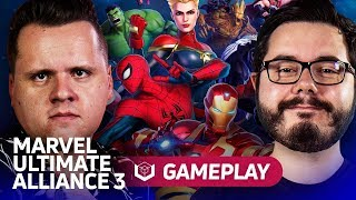 Marvel Ultimate Alliance 3 traz dezenas de heróis para o Voxel!