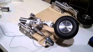 1/6 scale Vigilante Main landing gear