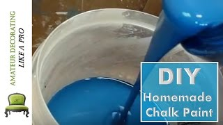 Making Chalk Paint At Home  - Subscribe To See New Projects!