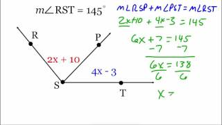 Geometry 1.4 part 2: Measure and Classify Angles
