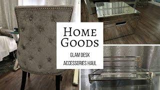 HomeGoods Desk Accessories Haul (Glam)| Home Decor | Tiffany Bland