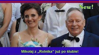 """Mikołaj z """"Rolnika"""" już po ślubie!"""