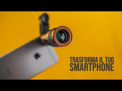Lente ZOOM per smartphone Incredibile!