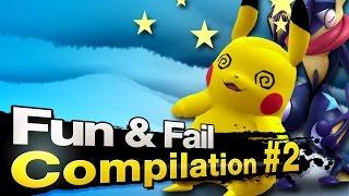 Smash 4 Wii U - Fun & Fail Compilation [Part 2]
