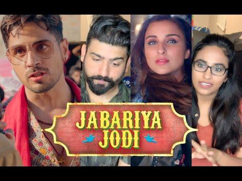 Jabariya Jodi Trailer Reaction | Sidharth Malhotra, Parineeti Chopra | RajDeepLive