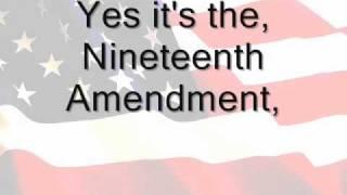 <b>Carmino Ravosa</b>s The 19th Amendment Song And Explanation