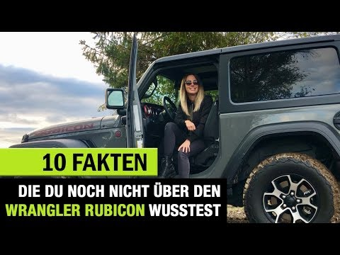 """10 Fakten, die DU noch nicht über den (2020) Jeep Wrangler """"Rubicon"""" wusstest ❗️"""