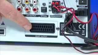 "auvisio 2.1-Soundbar ""MSX-390.sb"" Bluetooth/USB/SD/FM, int. Subwoofer"