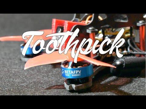 Costruiamo il nostro Toothpick con BetaFPV 1204 5000KV!