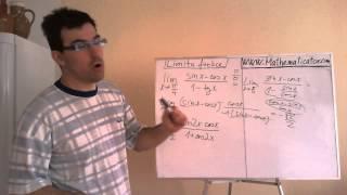 Limita funkce - goniometrické funkce