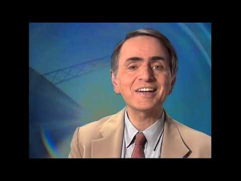 Carl Sagan describes Planetary Society SETI project