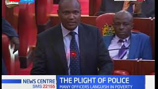 Developing Story: Parliament discussing police welfare as many officers languish in poverty