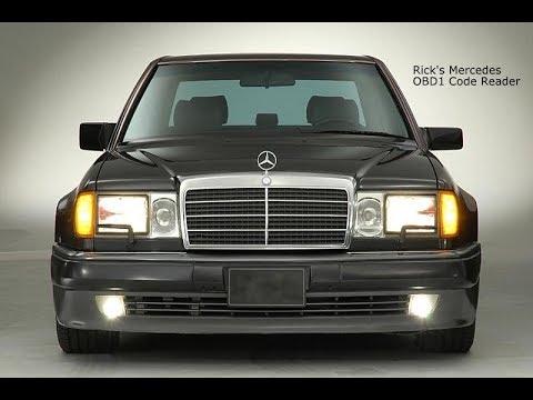Mercedes OBD1 Diagnostic code reader R129 W140 500E W124 SL600 SL320