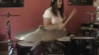 The Distillers For Tonight You're Only Here to Know Drum Cover