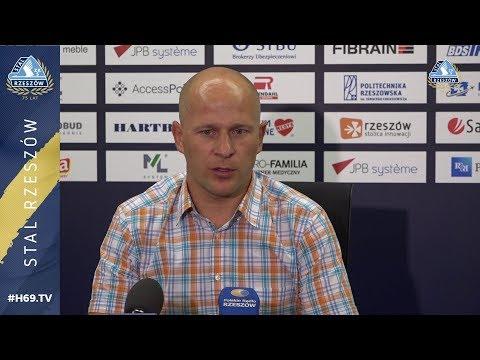 WIDEO: Stal Rzeszów - Elana Toruń 1-0 [KONFERENCJA]