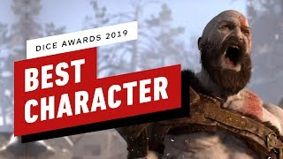 God of War's Kratos Wins Best Character - DICE Awards 2019