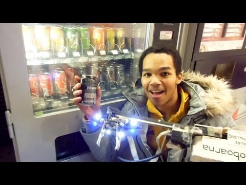 This Genius Guy Created A Robot To Steal From Vending Machines