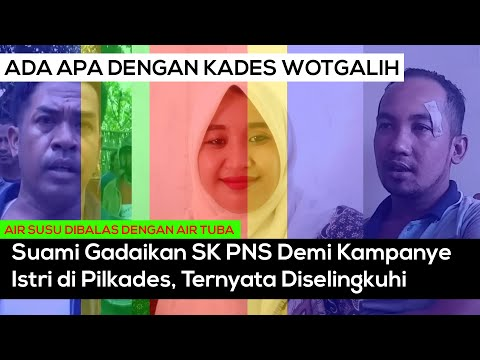 Suami Minta Bu Kades Wotgalih dan Stafnya Ditahan, Usai Laporan ke Polsek Nguling Pasuruan