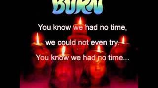 Burn- Deep Purple Lyrics