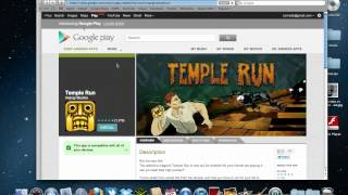 How To Download Temple Run To Your Phone W/ Computer