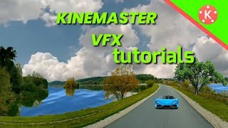 green screen and vfx editing mixing in Kinemaster video background