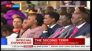 Rwandan President, Paul Kagame's remarks during Uhuru's inauguration ceremony