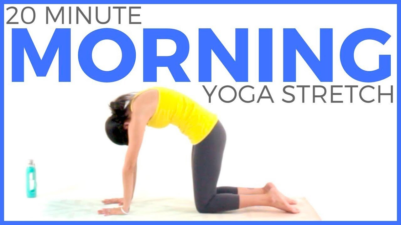 20 minute Morning Yoga Stretch to Wake Up & FEEL GREAT