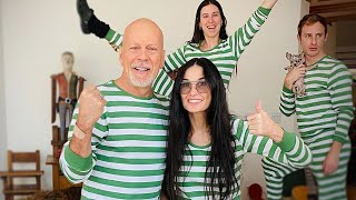 EXES Bruce Willis And Demi Moore Are Quarantined Together