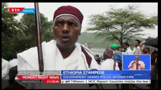 Monday Night News: Three days mourning in Ethiopia after 50 die in stampede, 3/10/2016