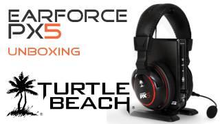 Turtle Beach Ear Force PX5 Headset Unboxing Deutsch