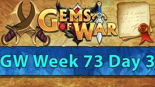 ⚔️ Gems of War Guild Wars | Week 73 Day 3 | Blue GW and Dragonguard Class⚔️