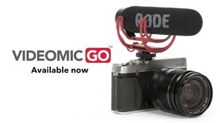 Rode Videomic GO LIGHTWEIGHT On-Camera ORIGINAL