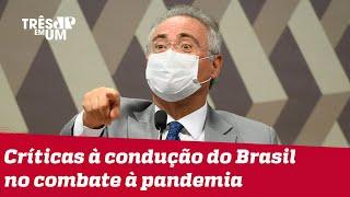 Renan Calheiros garante que CPI da Covid vai priorizar a ciência