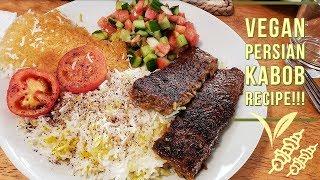 Vegan Persian Kabob Recipe