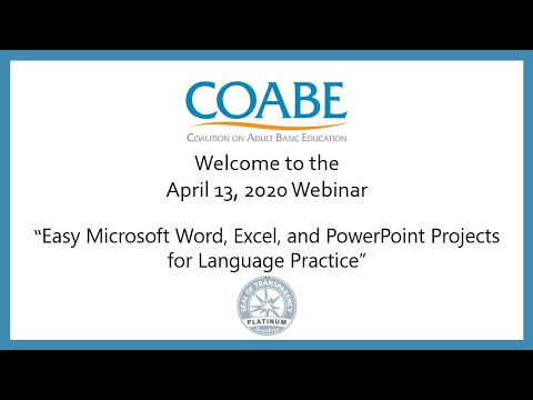 Easy Microsoft Word, Excel, and PowerPoint Projects for Language ...