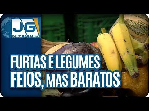 Frutas e legumes feios, mas baratos