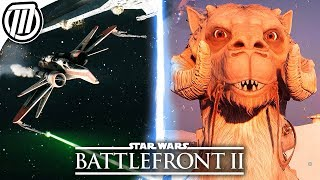 Star Wars Battlefront 2: ALL Vehicles & Hero Ships Gameplay (ALL 40)