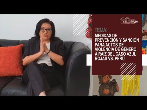 MEDIDAS DE PREVENCIÓN Y SANCIÓN PARA ACTOS DE VIOLENCIA DE GÉNERO A RAIZ DEL CASO AZUL ROJAS VS. PERÚ- Luces Cámara Derecho 174
