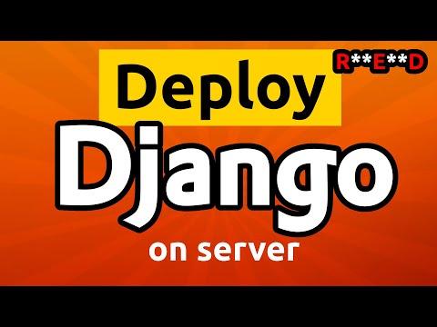 Deploy Django project on remote server: Nginx + PostgreSQL + Uvicorn thumbnail