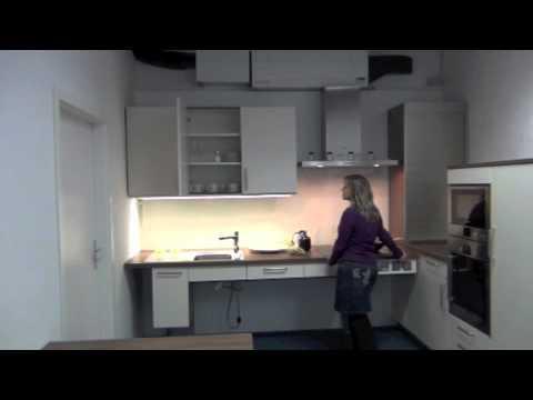 Die höhenverstellbare Küche