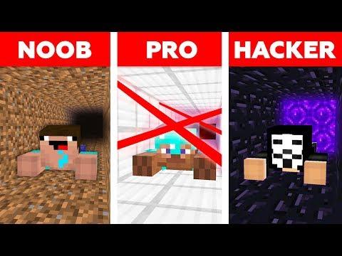 Minecraft PRISON ESCAPE CHALLENGE 🏃♂️ / Noob vs Pro vs Hacker in Minecraft