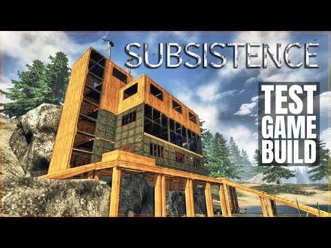 ELEVATOR BUILD IN A TEST WORLD | Subsistence | Let's Play Gameplay | S6 20a