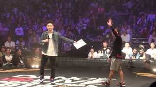 2015.4.26 ISSEI vs TAISUKE FINAL DANCE @LIVE JAPAN FINAL 2015