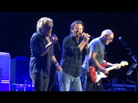 """The Who with Eddie Vedder """"The Real Me"""" Chicago, IL 5-13-2015"""