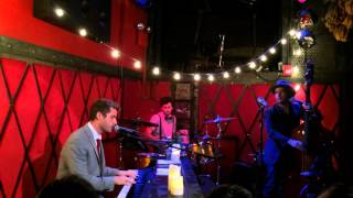 Jon McLaughlin JINGLE BELLS Rockwood Music Hall NYC 12/13/14