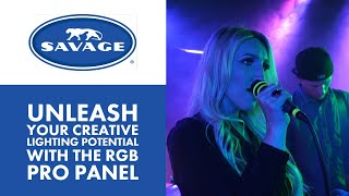 Unleash Your Creative Lighting Potential with the Savage RGB Pro Panel