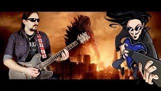 Godzilla Theme Epic Rock Cover/Remix (Little V)