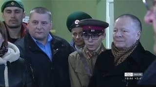 Открытие музея   с актёрами Новиковым и Галкиным.
