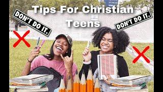 ✅LIFE-TIPS FOR CHRISTIAN TEENS🚫