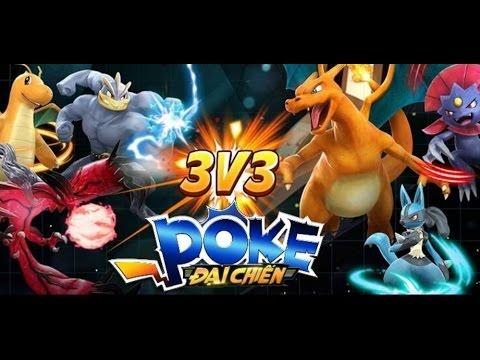 Poke Đại Chiến – Phiên bản game Pokemon kiểu xì-teen